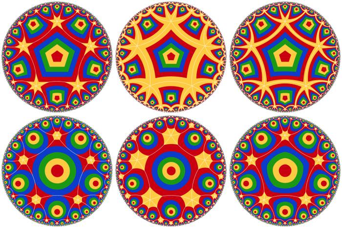 Make Hyperbolic Tilings of Images